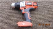 BLACK & DECKER CORDLESS DRILL LDX220 BODY ONLY